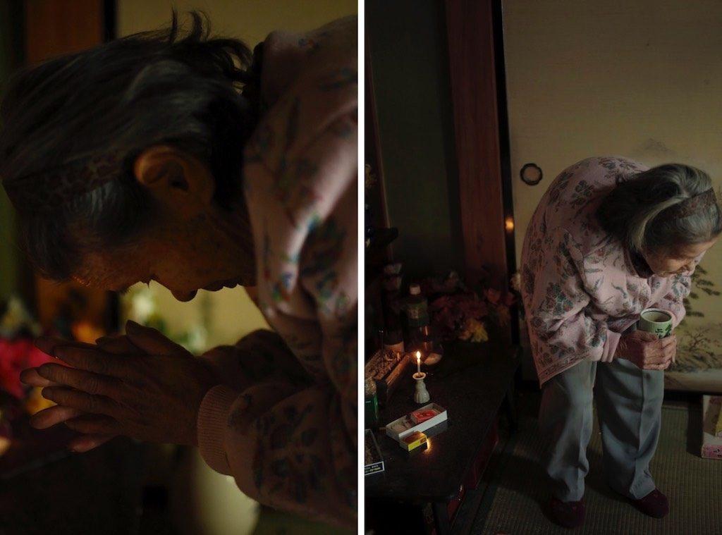 仏壇とカヲルさん